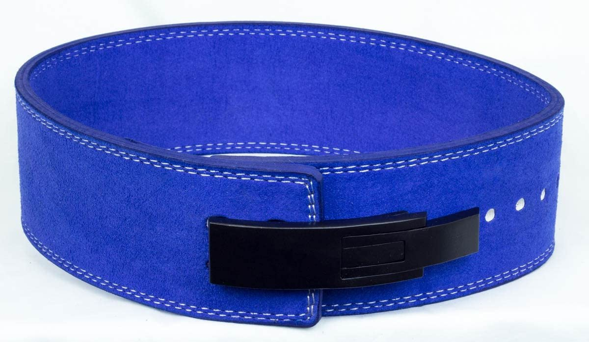 Powerlifting Strength Shop Blue 10mm Lever Belt IPF Approved