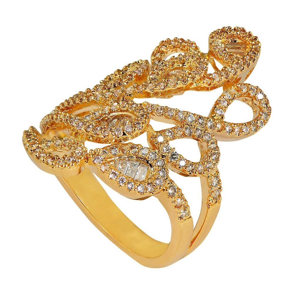 shaze gold-plated Egyptian Ring Gift for Her Birthday Valentine Gift for Her