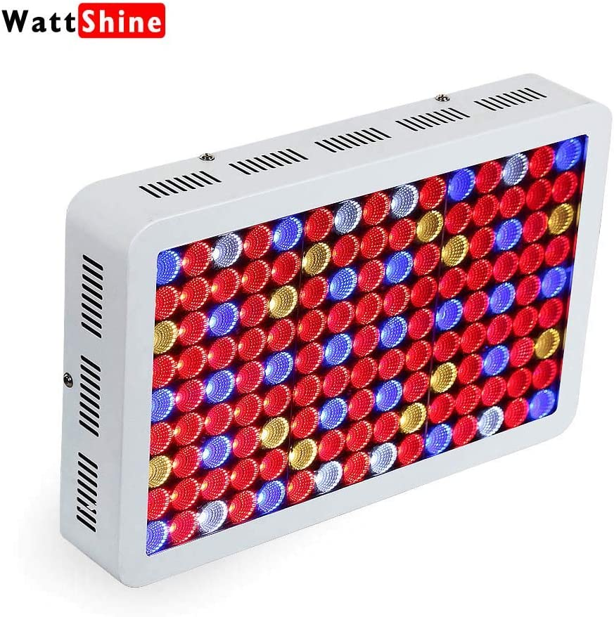 Wattshine LED Grow Light 1350W Full Spectrum High PAR Grow Light UV IR Plant Light with On Off Switch Grow Lamp for Greenhouse and Indoor Planting Lighting
