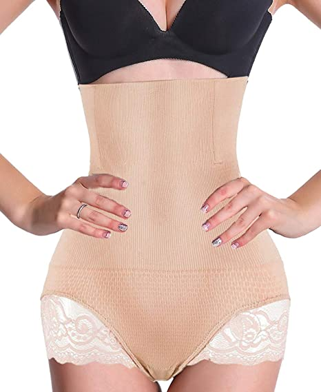 fbca44880 Jaosn Helen Women s Butt Lifter Shaper Seamless Tummy Control Hi-Waist  Thigh Slimmer  Amazon.in  Clothing   Accessories