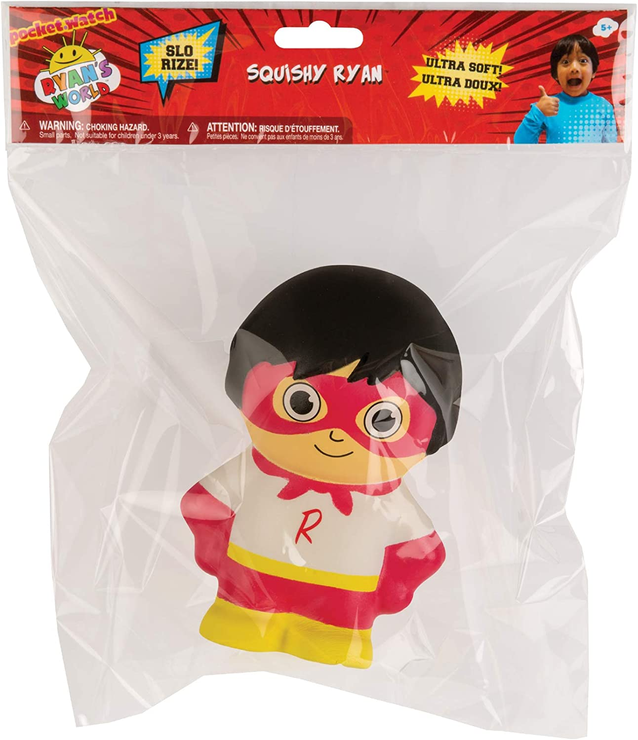 New Ryan's World Squishy Pizza Slo Rise Squishie