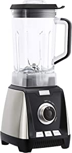 AmazonBasics 1200-Watt Multi-Speed Countertop Blender, 50-Ounce