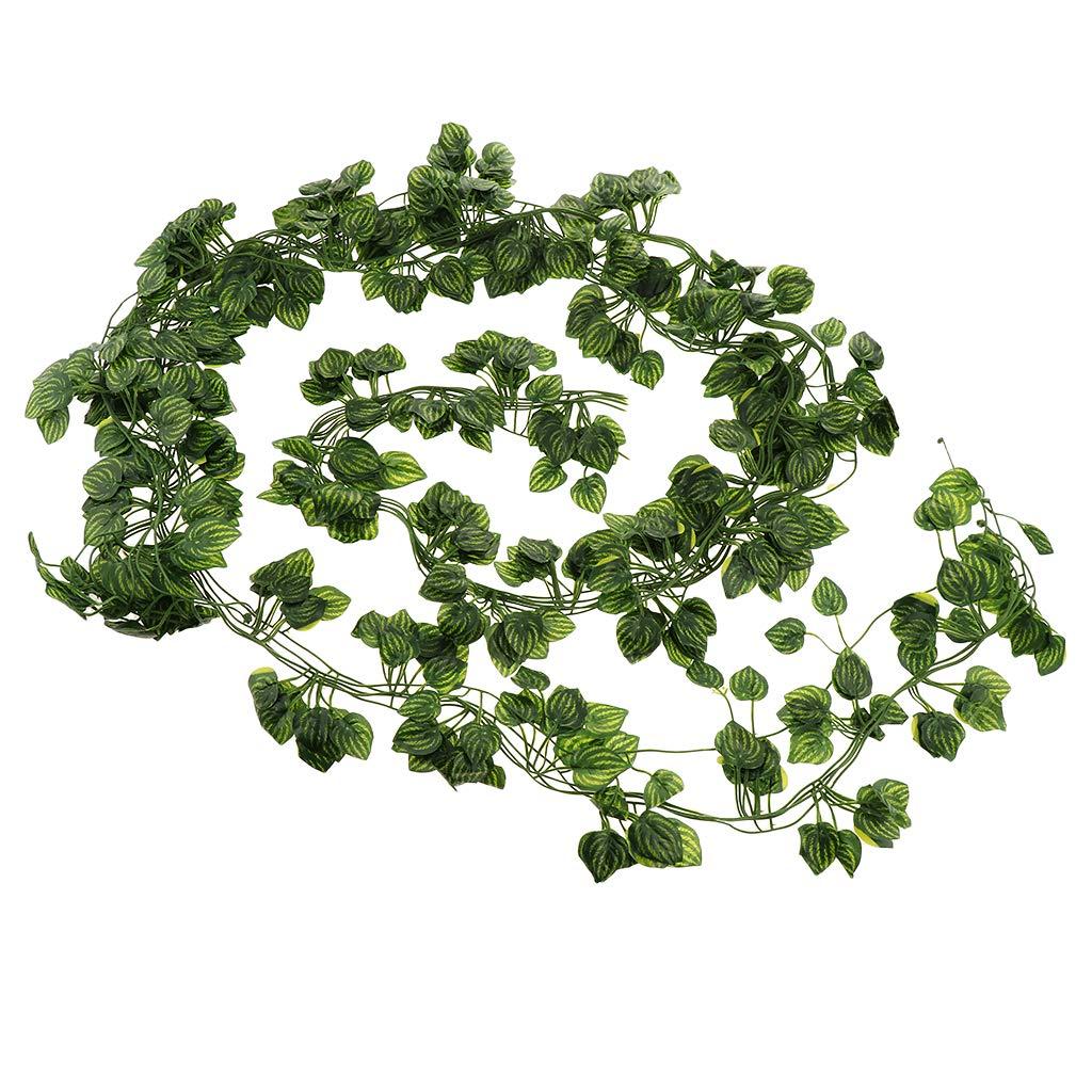 Artificial Trailing Garland Ivy Vine Leaf  Fern Greenery Plants Foliage Flowers