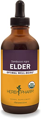 Herb Pharm Certified Organic Elder Liquid Extract