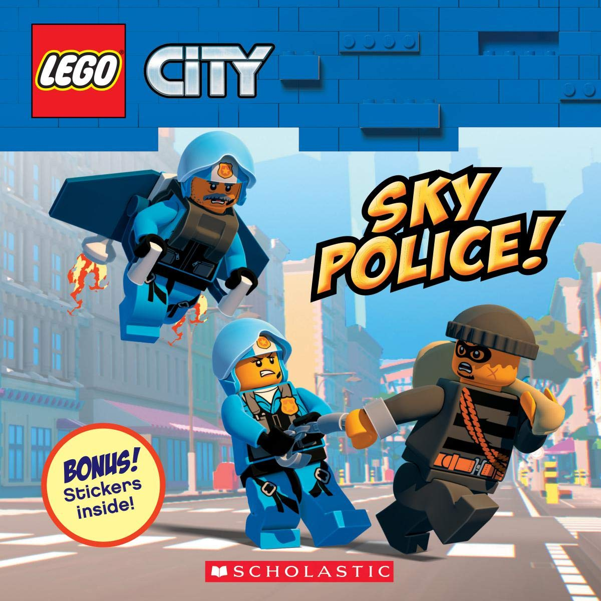 Sky Police! (LEGO City: Storybook with Stickers): Rusu, Meredith:  9781338625912: Amazon.com: Books