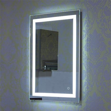 Specchio Luce LED con Illuminazione Interruttore per il Bagno Camera ...