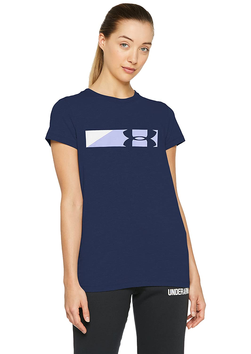 83566888f Amazon.com: Under Armour Women's Sportstyle Graphic T-Shirt: Clothing