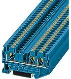 PHOENIX CONTACT Durchgangsklemme PT 4-TWIN BU, 50 Stück, 3211775