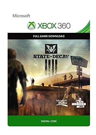 State of Decay [Xbox 360 - Download Code]: Amazon co uk: PC & Video