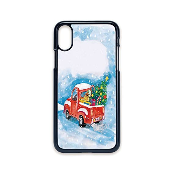 Truck Edge Mobile >> Amazon Com Phone Case Compatible With Iphone X 2d Print Black Edge
