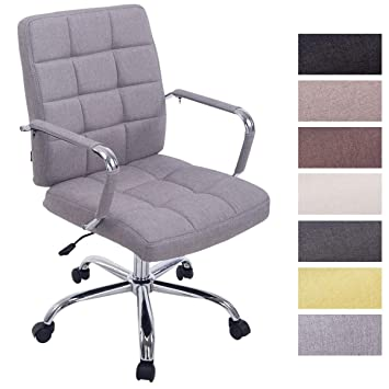 upholstered office chairs. clp office chair deli pro fabric cover upholstered desk swivelling grey chairs