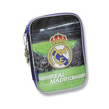 Estuche Real Madrid 3D completo: Amazon.es: Juguetes y juegos