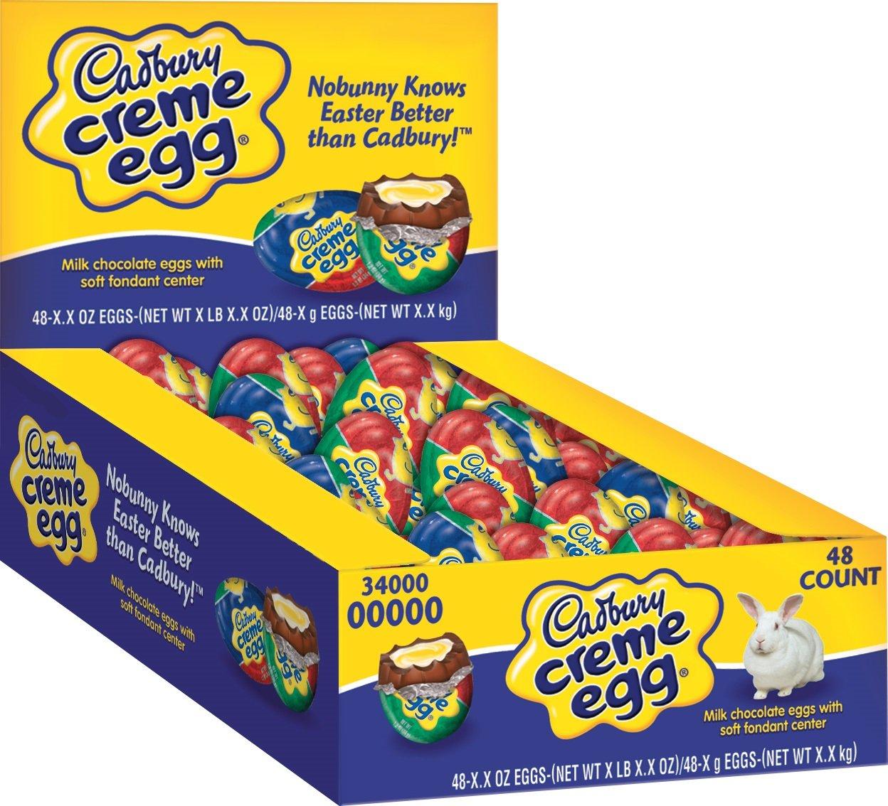 Cadbury Easter Creme Egg, 1.2-Ounce Eggs (Pack of 48) by Cadbury (Image #2)