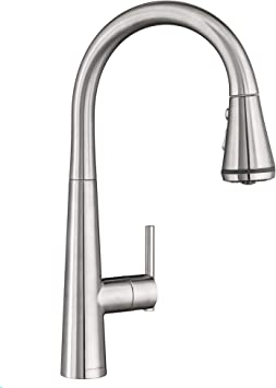 American Standard 4932300 075 Edgewater Pull Down Kitchen Faucet With Selctflo In Stainless Steel Amazon Com