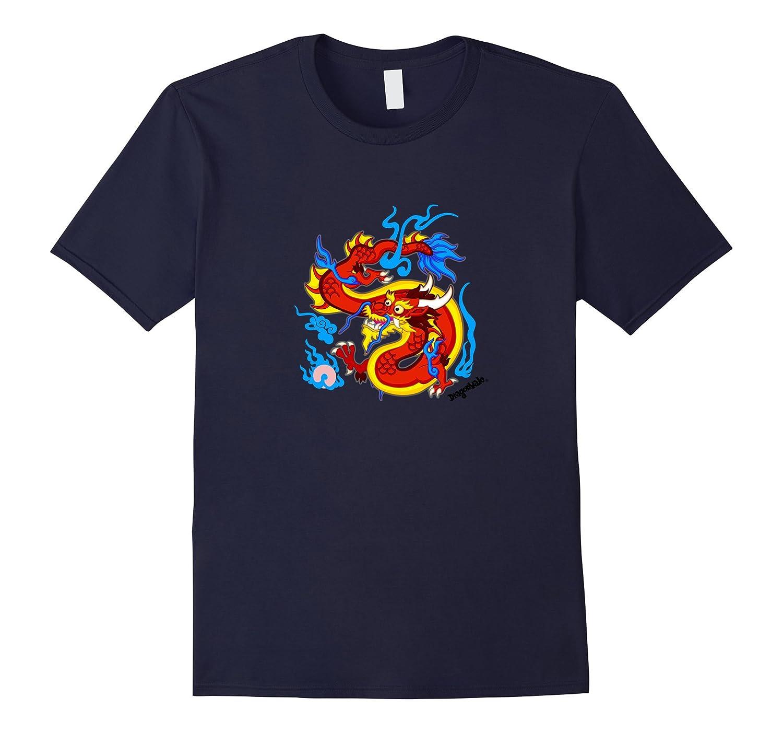 DragonVale: Panlong Dragon T-Shirt-Rose