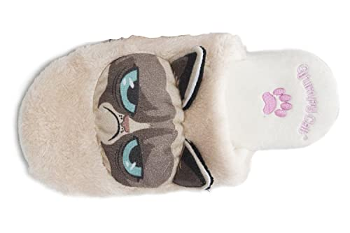 b3ceaf65a71f Grumpy Cat Slippers (Women s Large UK 5-7 )  Amazon.co.uk  Shoes   Bags