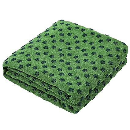 Amazon.com : Exrebon Hot Yoga Mat Towels 24x72 Skidless ...