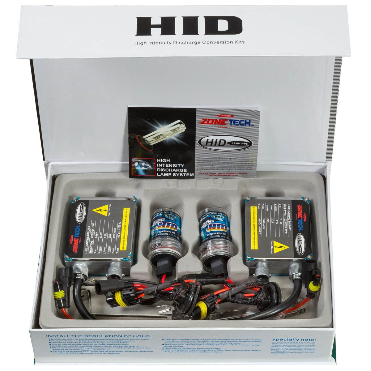 hid xenon premium headlight conversion kit dc h11 8000k ebay. Black Bedroom Furniture Sets. Home Design Ideas