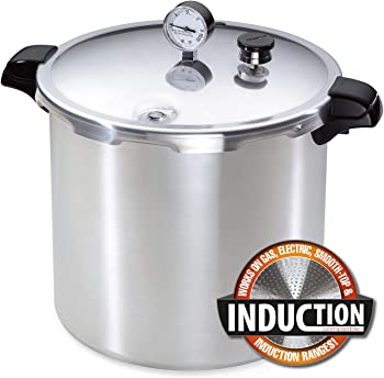 Presto 23-Quart Induction Compatible Pressure Canner