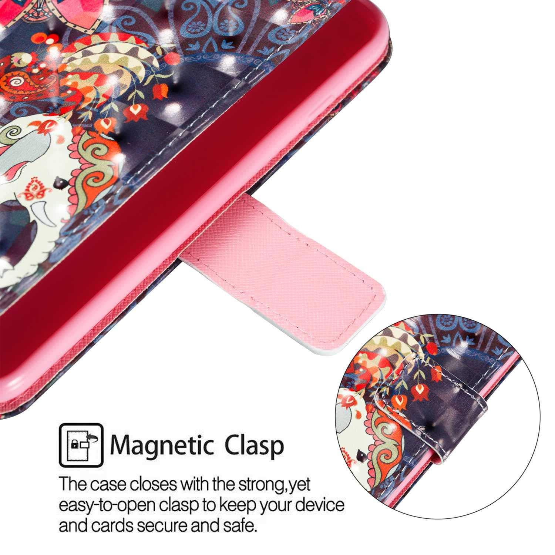 Silicone Inner Case pour Samsung Galaxy A10 Carte de cr/édit /étui Portefeuille /à Rabat en magn/étique Porte-Cartes DENDICO Coque Galaxy A10