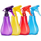 8 Oz Empty Plastic Spray Bottles with Adjustable Nozzle - Durable Trigger Sprayer with Mist & Stream Modes - Refillable…