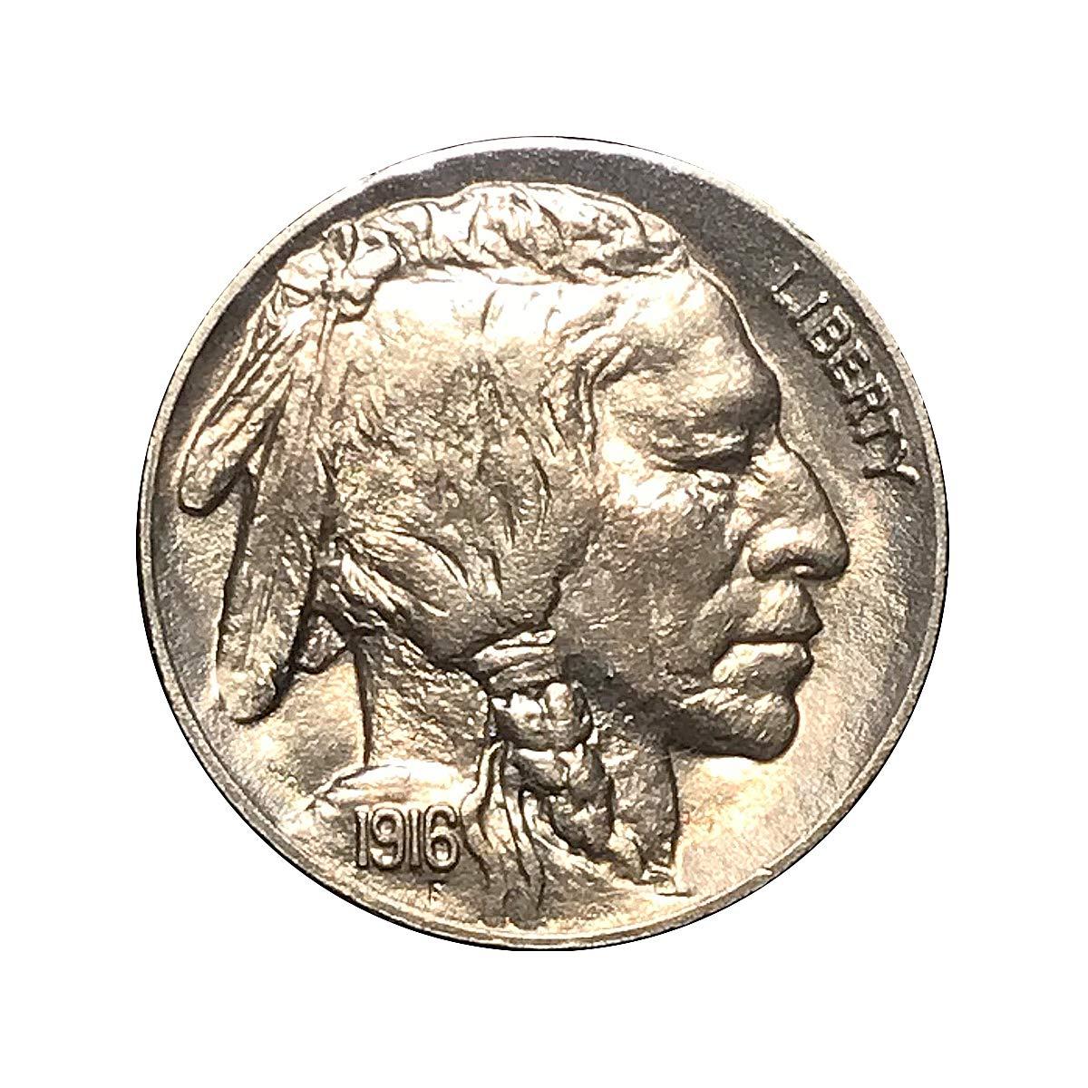 1916 P Buffalo Nickels VG