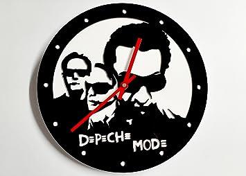 Reloj de pared original Depeche Mode, metacrilato, silencioso, moderno: Amazon.es: Hogar
