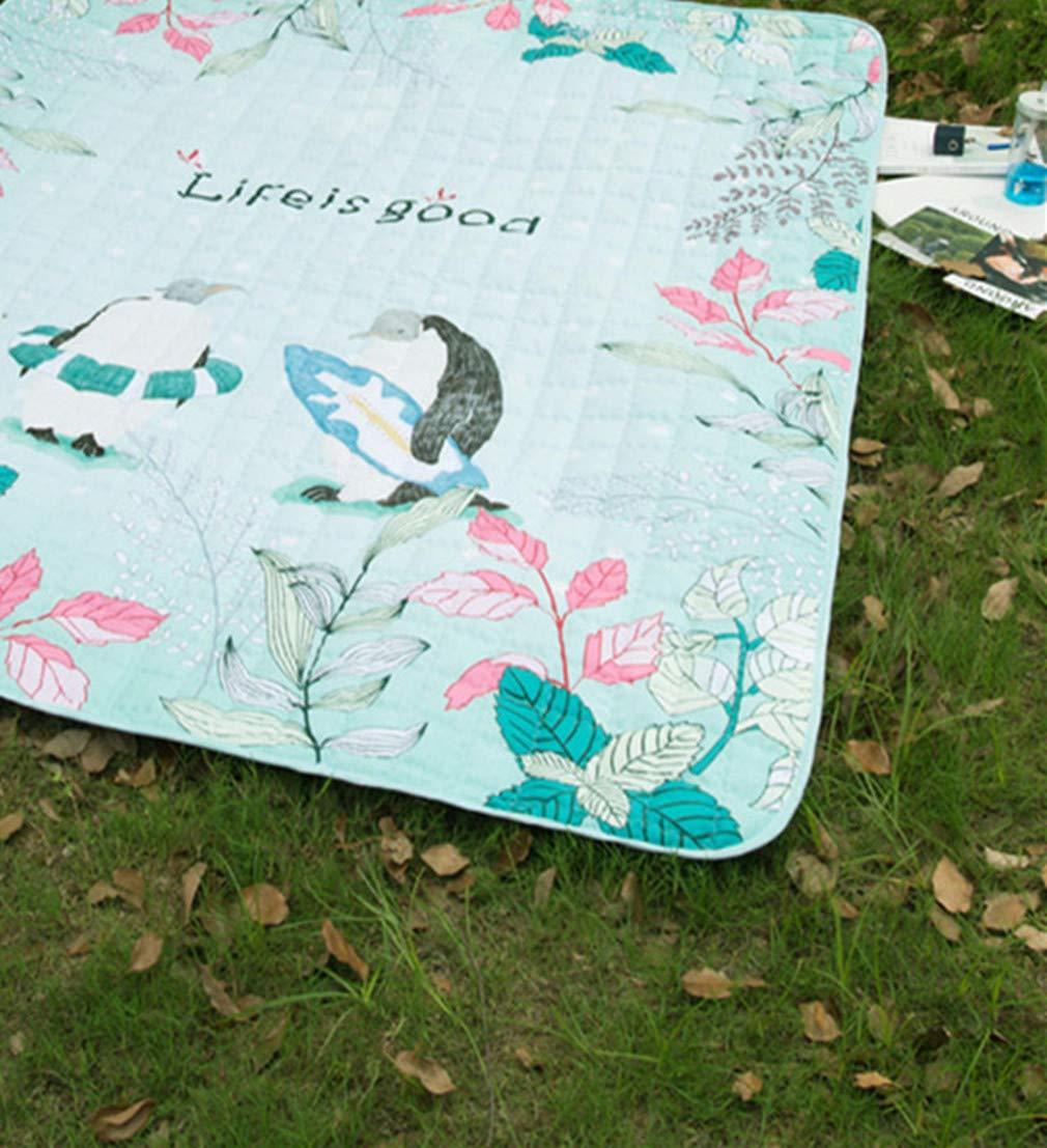Zhxinashu Extra Extra Extra Große Picknick Outdoor Decke Frühling Sommer Wasserdichte Dual Layer Matte(G 1.7  2.0m) B07P4N1QNL   Deutschland Shop  25995c