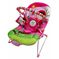 Sillón reclinable de Just4baby con vibración y con 3 juguetes colgantes, con melodías musicales
