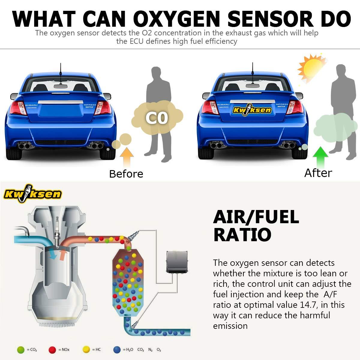 O2 Oxygen Sensor Downstream For 2000 01 02 2003 2004 Toyota Tundra 3.4L 4.7L