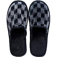 Smart Bazaar Men/Women's Soft Comfortable Cotton Non-Slip Soles Strip Winter Outdoor Indoor Slippers/Soft Bottom Slippers