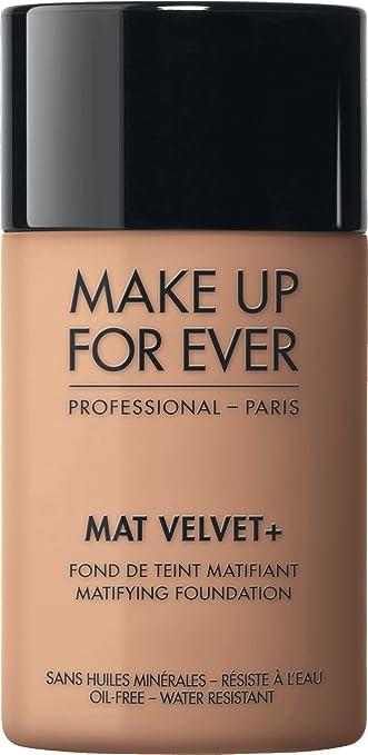 makeup forever. make up for ever mat velvet + matifying foundation no. 40 - natural beige 1.01 makeup forever i