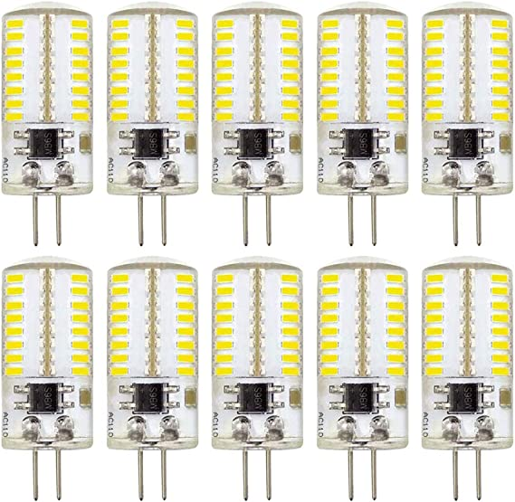 10pcs G8 120V 20W Halogen Light Lighting Lamp Bulb Volt G8 Pin Halogen BulbTEWA