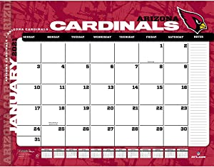 TURNER Sports Arizona Cardinals 2021 22X17 Desk Calendar (21998061526)