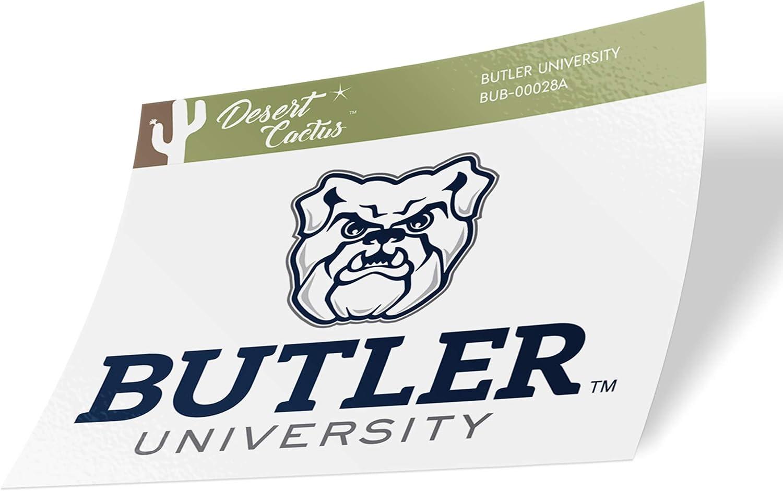 Butler University Bulldogs NCAA Vinyl Decal Laptop Water Bottle Car Scrapbook (Sticker - 00028A)