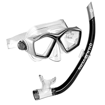 U.S. Divers Icon Adjustable Snorkeling Mask Set
