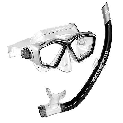 U.S. Divers Icon Mask + Airent Snorkel Set
