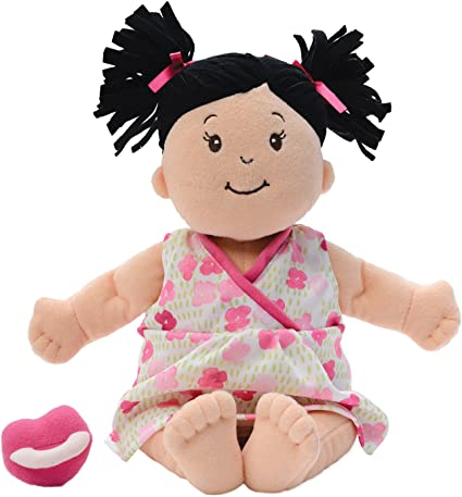 15 Manhattan Toy Baby Stella Peach Soft Nurturing First Baby Doll for Ages 1 Year and Up