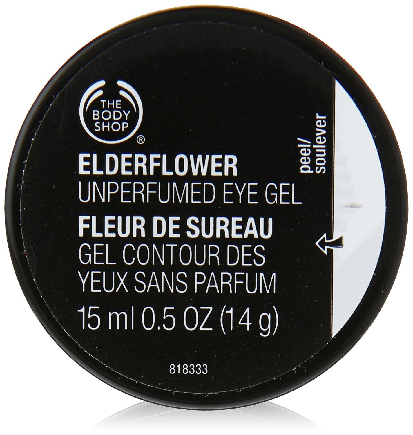 The Body Shop Elderflower Cooling Eye Gel, 0.5 Fl Oz by The Body Shop