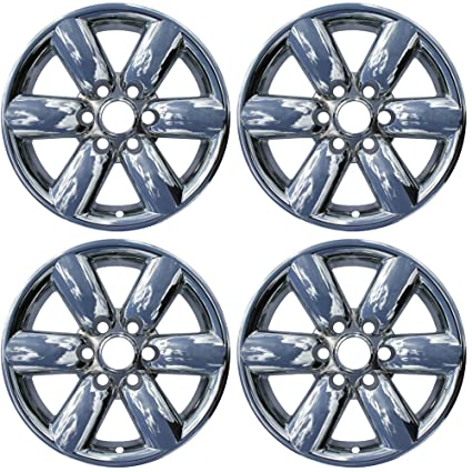 OxGord 18 inch Hubcap Wheel Skins for 2008-2015 Nissan Titan-(Set of