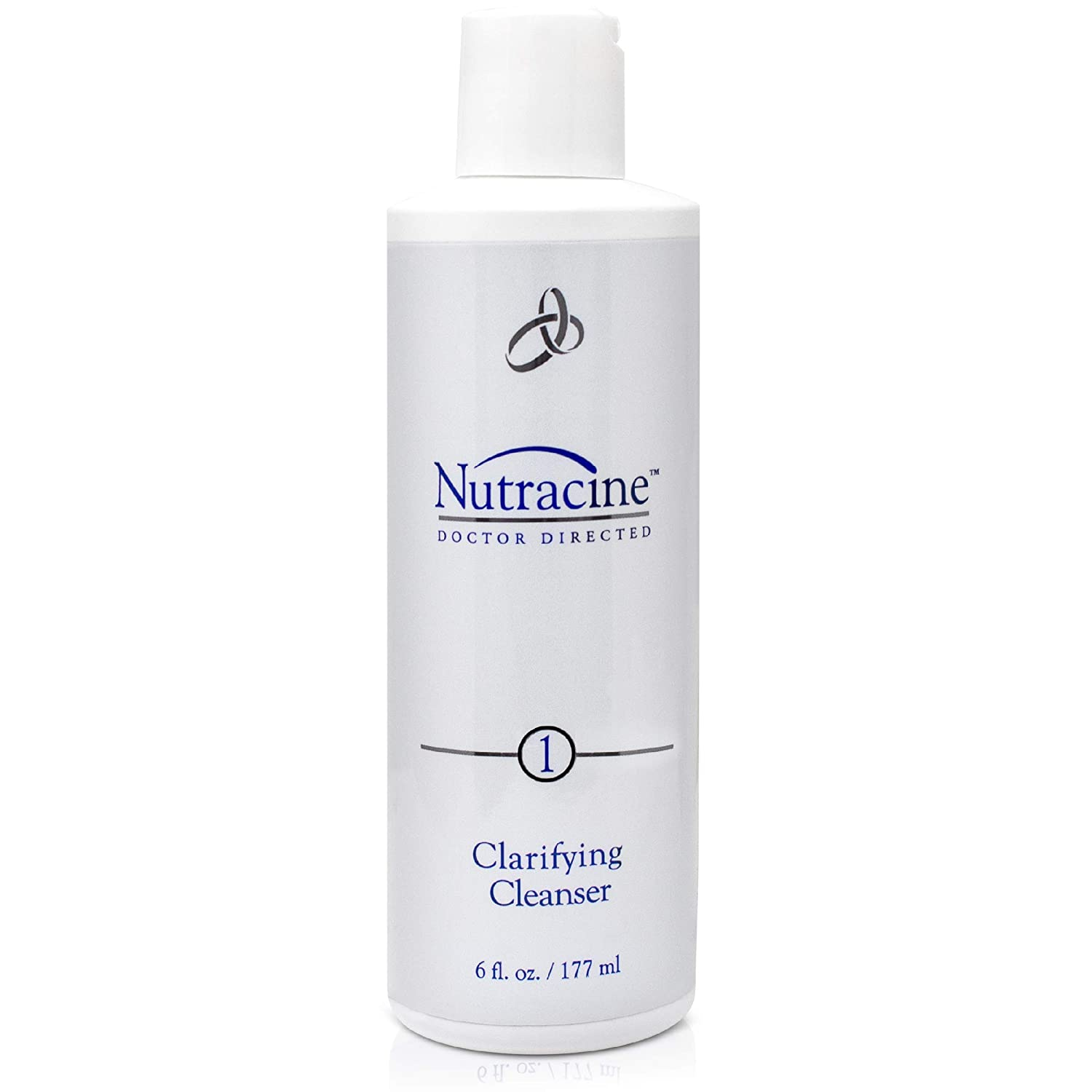 Nutracine Gentle Hydrating Facial Clarifying Cleanser Combines Green Tea antioxidant, anti-inflammatory and fruit extracts to easily remove makeup, deep Impurities (oil and fragrance free). 6fl oz