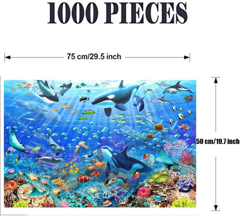 USA 1000 Jagsaw puzzles blue ocean adults kids entertament fun Fast Shipping