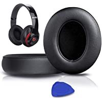 Professional Beats Studio Replacement Earpads Cushion by SoloWIT- Compatible with Beats Studio 2.0 & 3 Wired/Wireless…