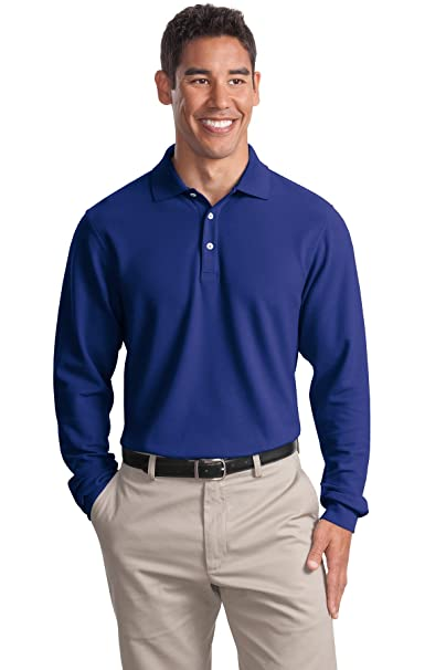 73aa24494 Port Authority Men s Big And Tall Ezcotton Polo Shirt at Amazon ...
