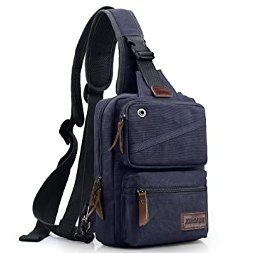 13392bb02c66 XINCADA Sling Bag Man Bags Crossbody Shoulder Bag Messenger Bags Travel  Purse Chest Pack Small Backpack for Men and Women