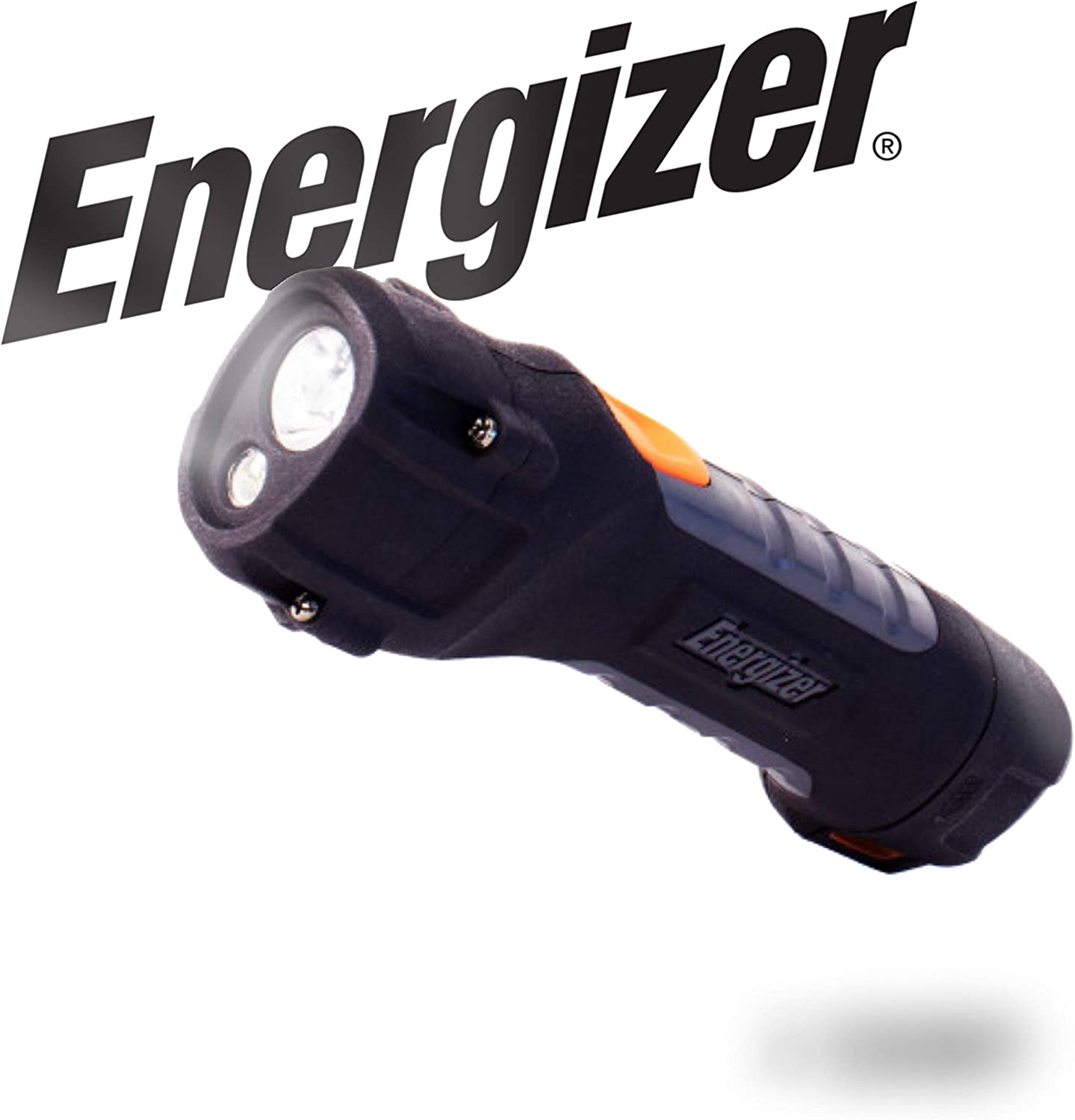 Energizer LED AA Flashlight, Hard Case Professional ProjectPlus Light, 11...