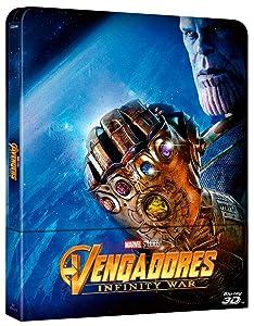 BD 3D Steelbook Vengadores Infinity War [Blu-ray]