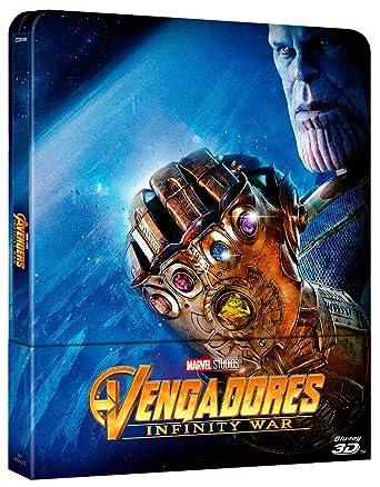 BD 3D Steelbook Vengadores Infinity War [Blu-ray]: Amazon.es ...