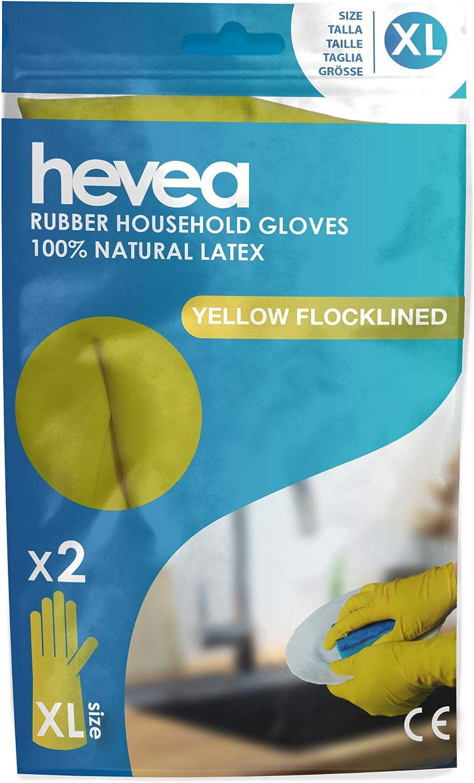 Guanti casalinghi riutilizzabile in latex  1 paire taglia L