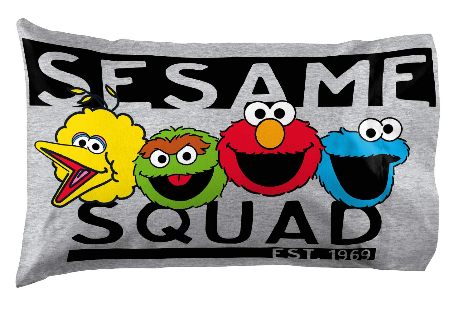 Jay Franco Sesame Street Hip Elmo 4 Piece Twin Bed Set - Includes Reversible Comforter & Sheet Set - Super Soft Fade Resistant Polyester - (Official Product) by Jay Franco (Image #6)